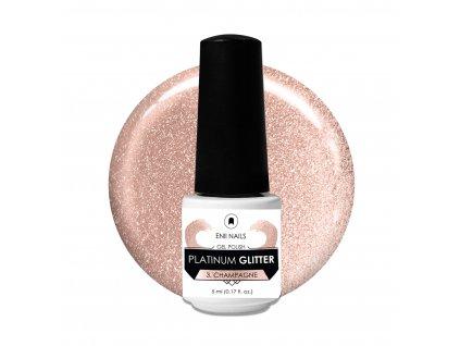 Platinum Glitter 3 Champagne