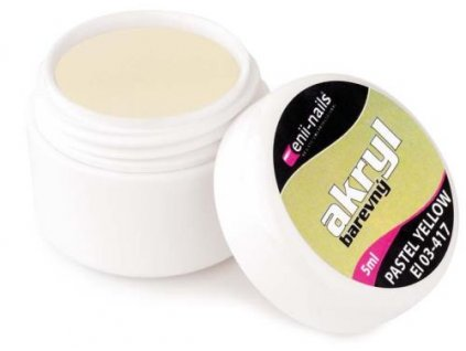 Farebný akryl Pastel Yellow 5 ml
