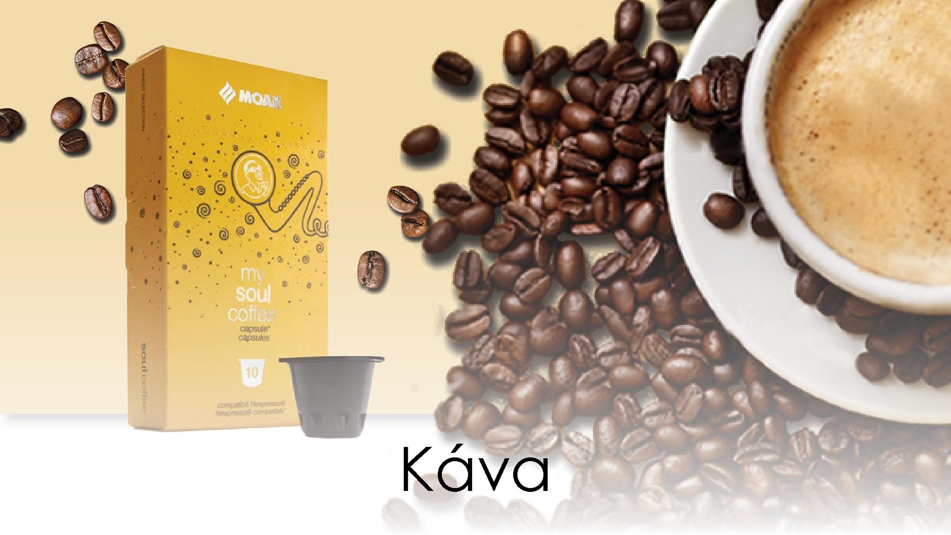 Italská káva MOAK již brzy v naší nabídce!