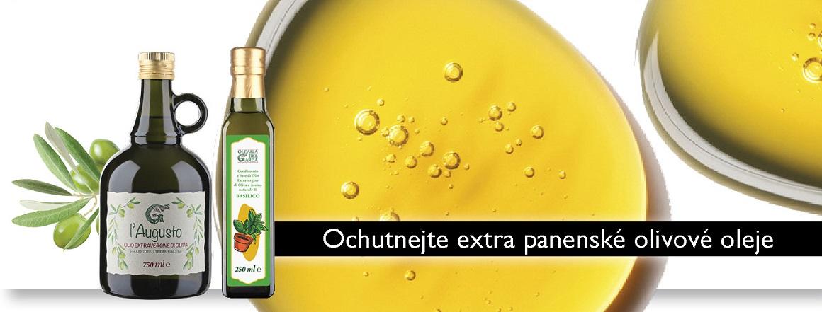Ochutnejte skvělé extra panenské olivové oleje!