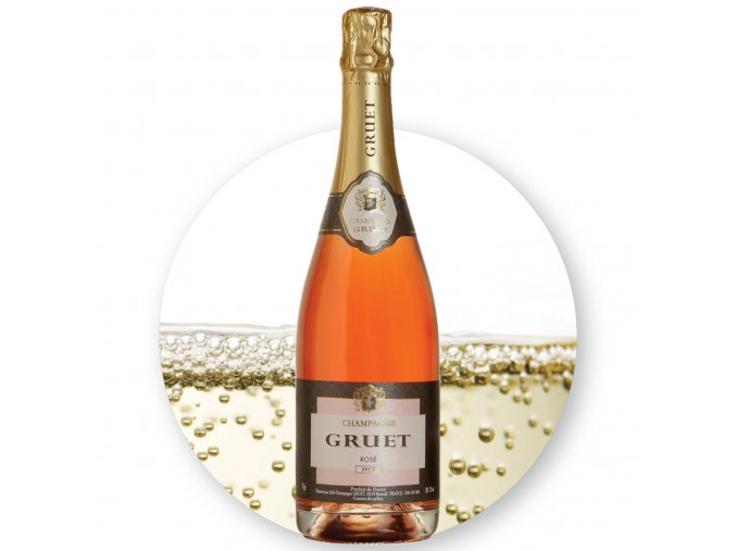 Gruet Champagne Rose Brut EDIT