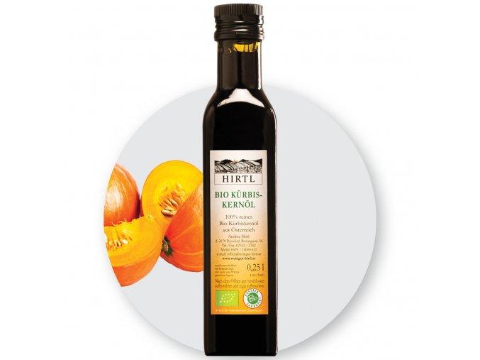 BIO Dýňový olej Hirtl 500 ml