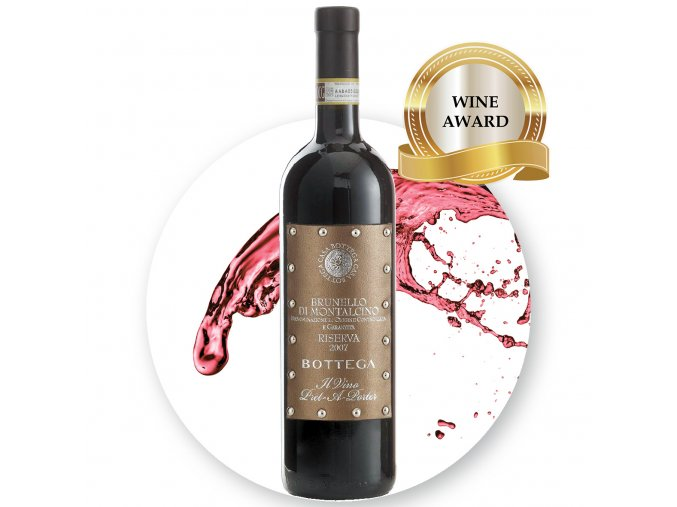 BOTTEGA Pret a Porter Brunello Riserva EDIT award