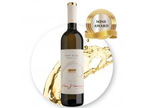 SanSI Pinot Grigio Friuli DOC Grave Prestige EDIT award