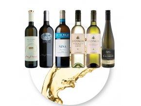 Kolekce bílých vín Rakousko a Itálie