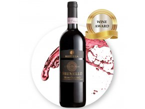 BOTTEGA Brunello di Montalcino DOCG EDIT award