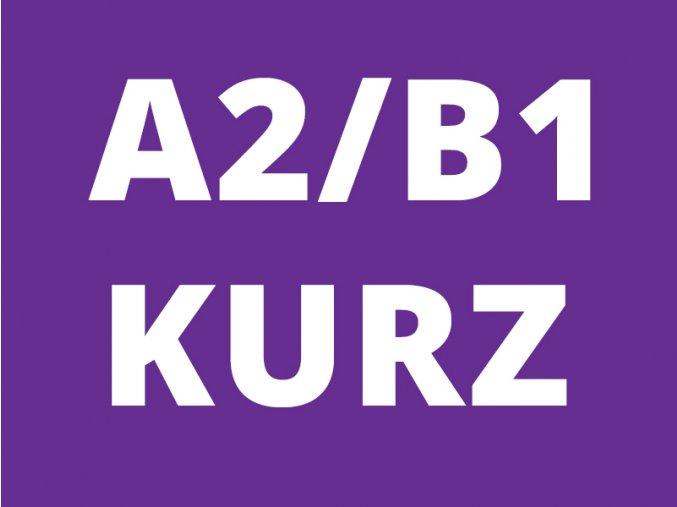 Kurz angličtiny pro dospělé A2 B1