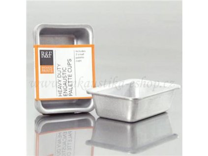 Enkaustika - Nádoby na tavení vosku malé (3 ks)