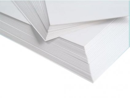 BÍLÝ KARTON A4 - 10 listů