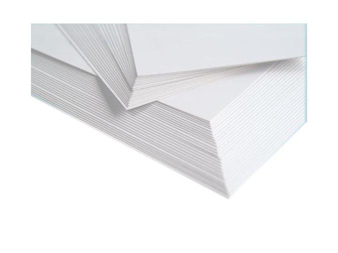 BÍLÝ KARTON NA ENKAUSTIKU: A6 - 100 listů