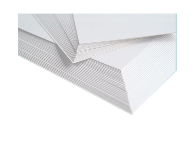 BÍLÝ KARTON A6 - 50 listů