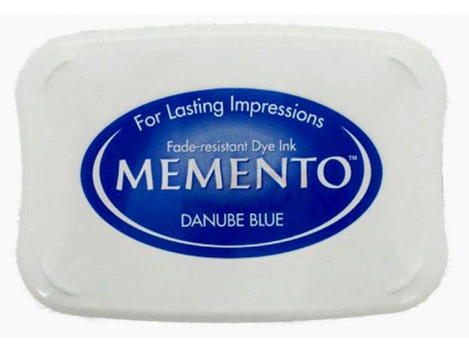 Žiarivo modrý vankúšik