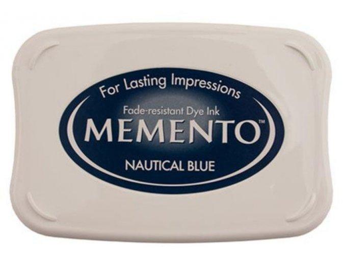 Námornícky modrý vankúšik