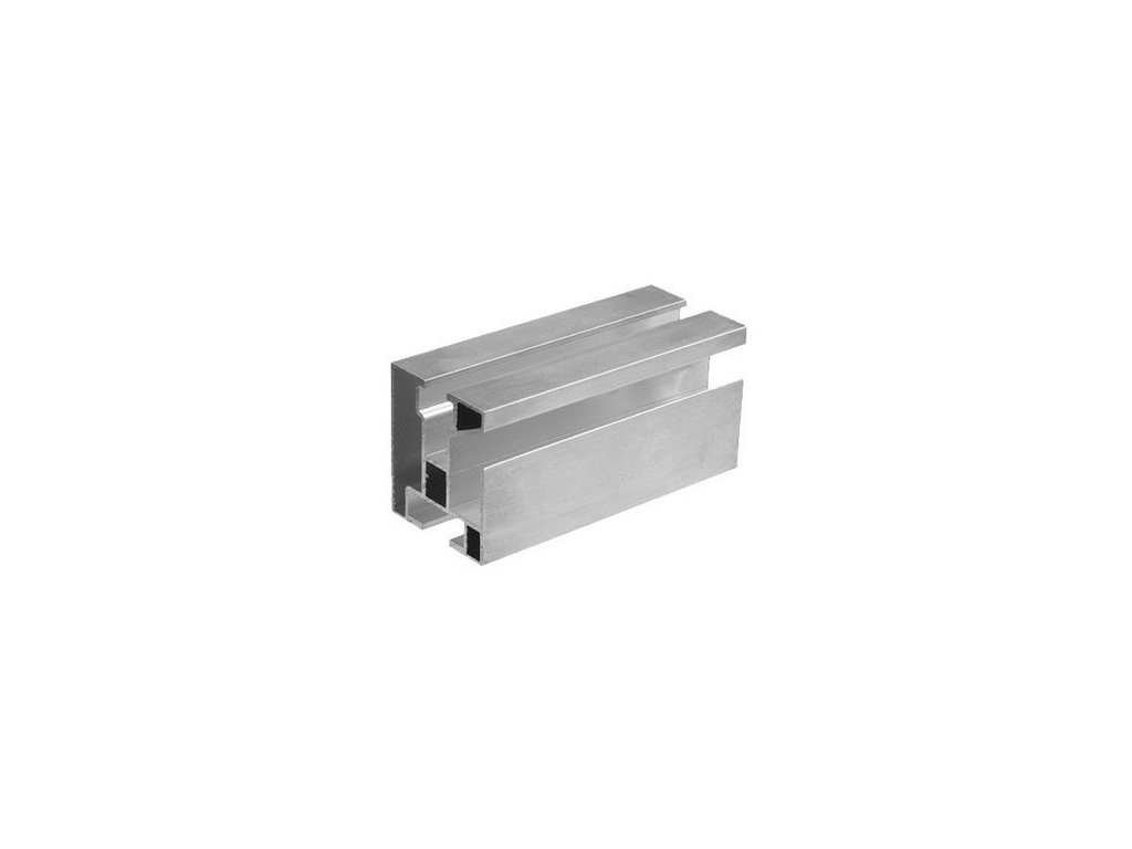 Hliníkový profil HNP1 40x45mm dĺžka 4,3m