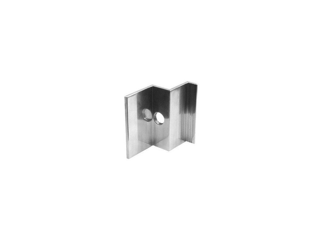 Hliníkový krajný úchyt 41mm