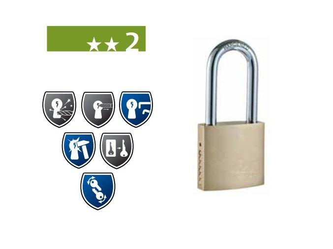 FAB 110RSHT - bezpečnostní visací zámek