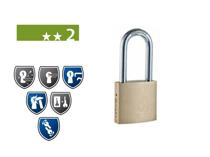FAB 110/200RSHT - bezpečnostní visací zámek