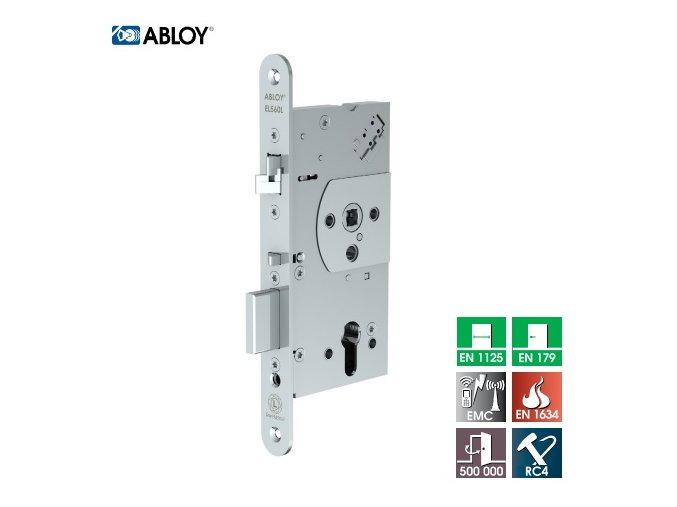 Elektromechanický zámek EL560 + bezpečnostní kování SX03