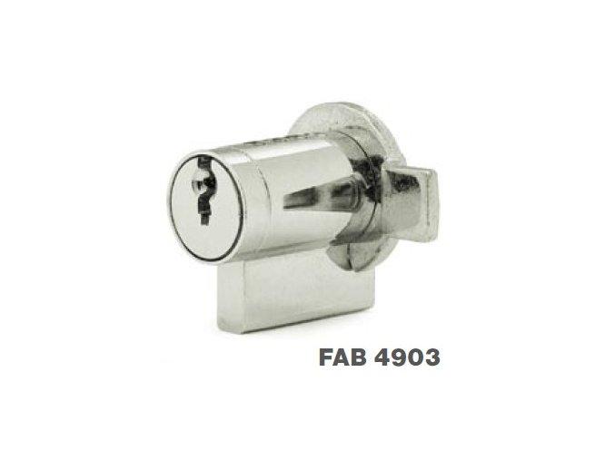 Cylindrické vložky se závorkou FAB 4903, FAB 4904