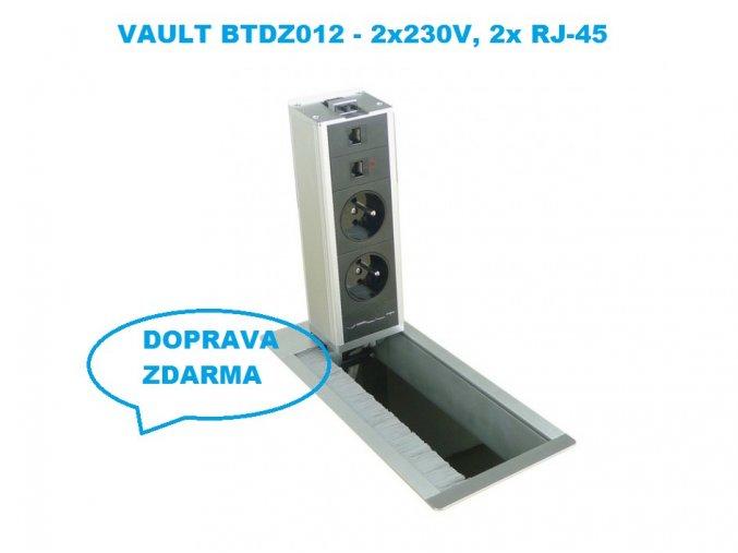 Vault BTDZ 012 - zásuvkový panel