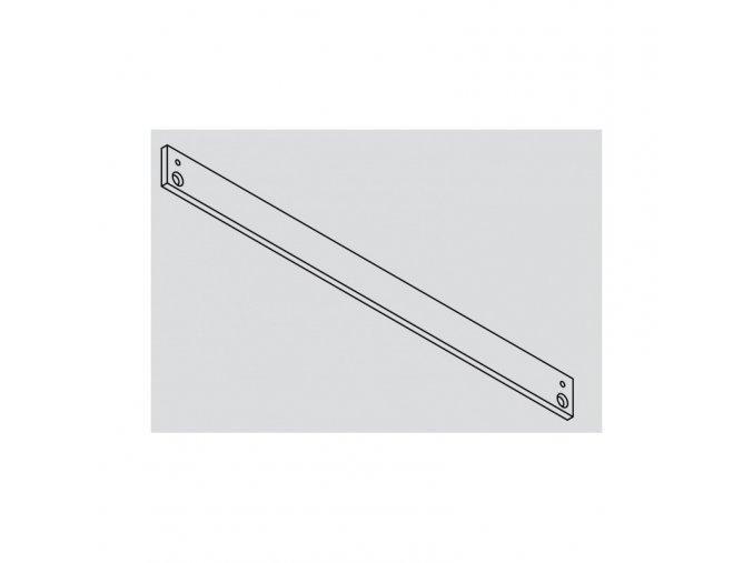 GEZE montážní deska pro kluznou lištu TS3000/5000