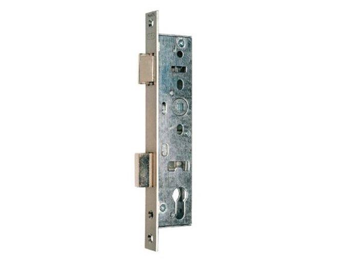 NEMEF série 9600 - zadlabací zámek mech.vložkový úzký