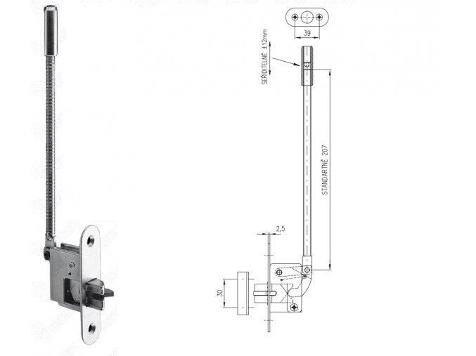 Automatická dveřní zástrč 27HZ
