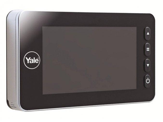 Yale  DVV 5800 -  digitální dveřní kukátko s automatickým nahráváním