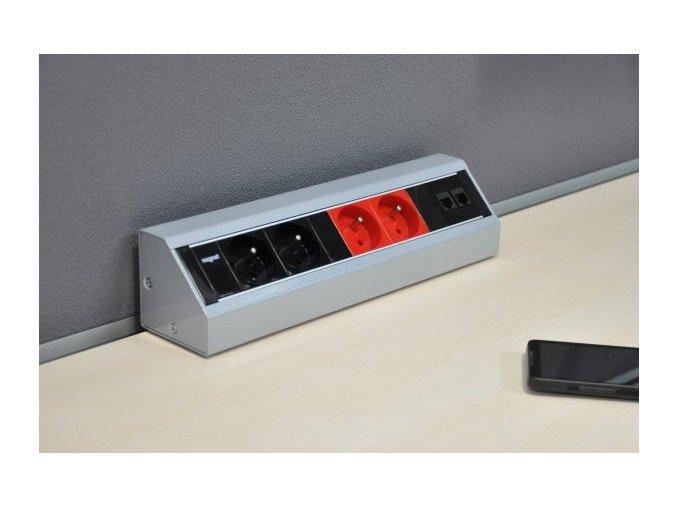 Magnat STICK 029 -4x230V, 1xHDMI, 3xRJ45
