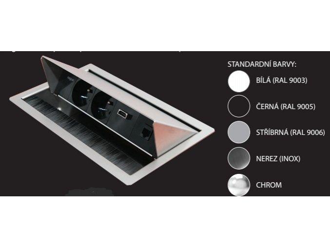 MAGNAT-BOX CFG-01 - 3x 230V, 3x Konfigurovatelná pozice