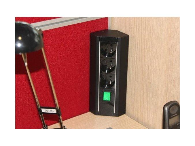 Magnat STICK 009 - 3x230V+2xUSB