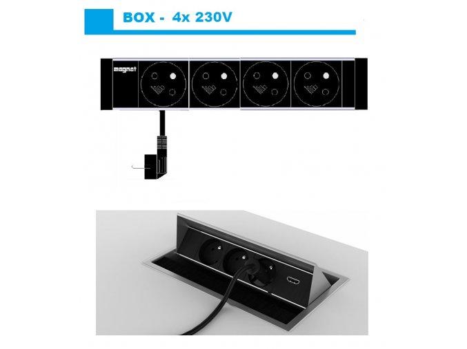 Magnat BOX 012 -  4x 230V