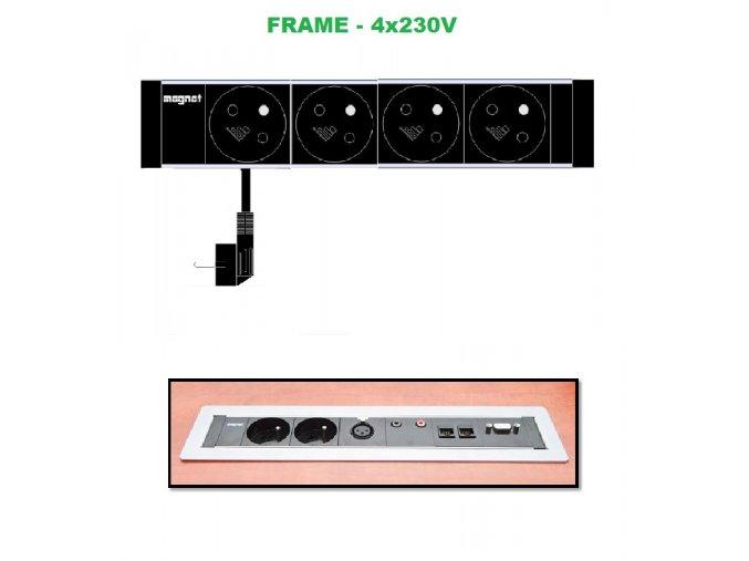 Magnat FRAME 012 - 4x 230V