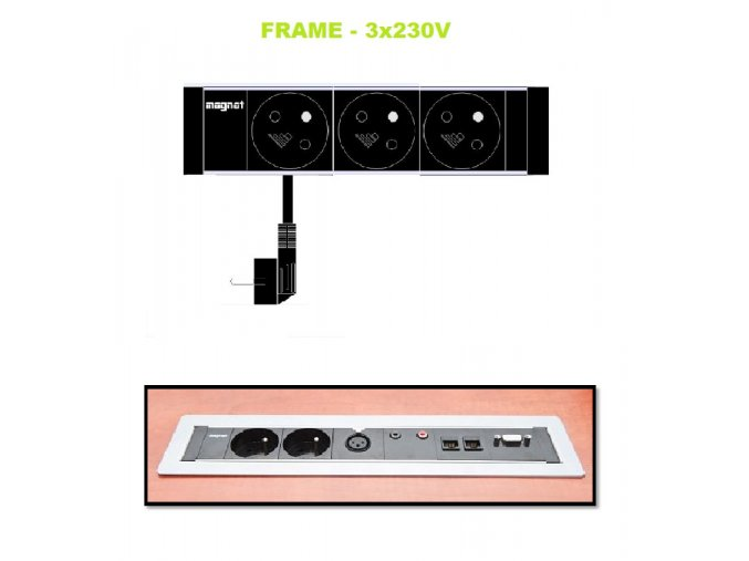 Magnat FRAME 013 - 3x 230V