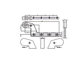 Spodní ramínko italské levé/pravé AC583
