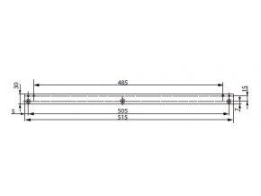 A115 montážní plech (G461-464)