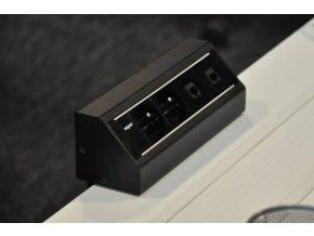 Magnat STICK 004 - 1x 230V + 1x VGA + 1x HDMI + 2x RJ-45 + 1x MiniJack 3,5mm + 3x RCA Audio-Video
