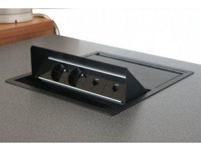 Magnat BOX DUO 003 - 2x230V + 2xUSB + 1xVGA + 1x MiniJack 3,5mm