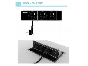 Magnat BOX 013 -  3x 230V