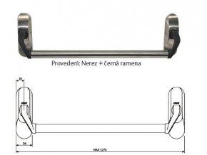 Mechanická paniková  hrazda PBE011 pro EL560