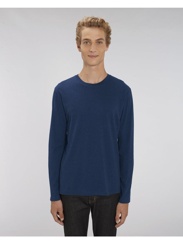 Pánské tričko dlouhý rukáv Shuffles BIObavlna