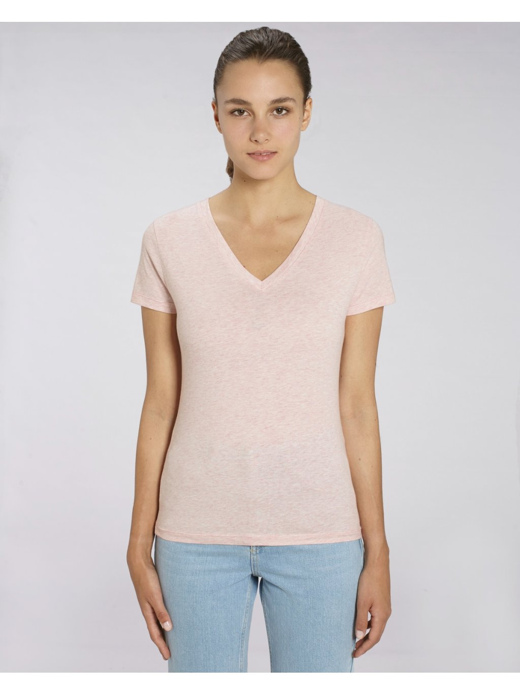 Stella Evoker Cream Heather Pink Studio Front Main 6