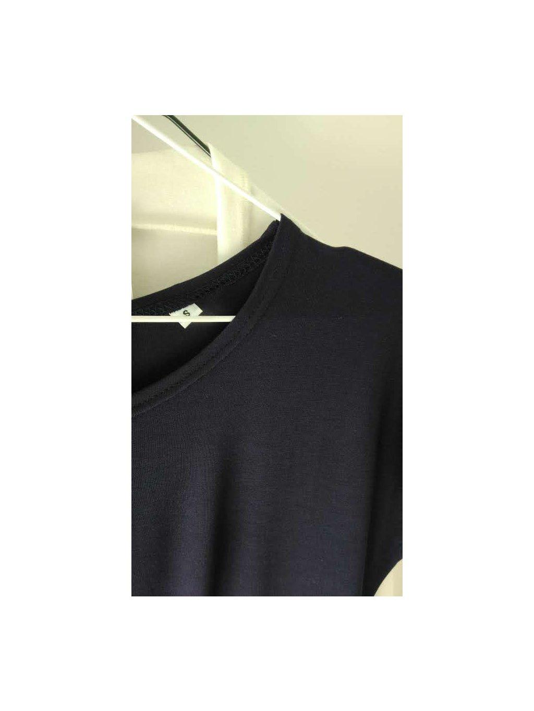 Tunika/šaty bambus tmavě modrá