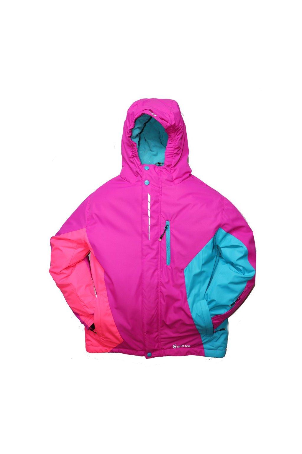 Dětská zimní bunda HA02-M2 fialová vel. 134-164 cm