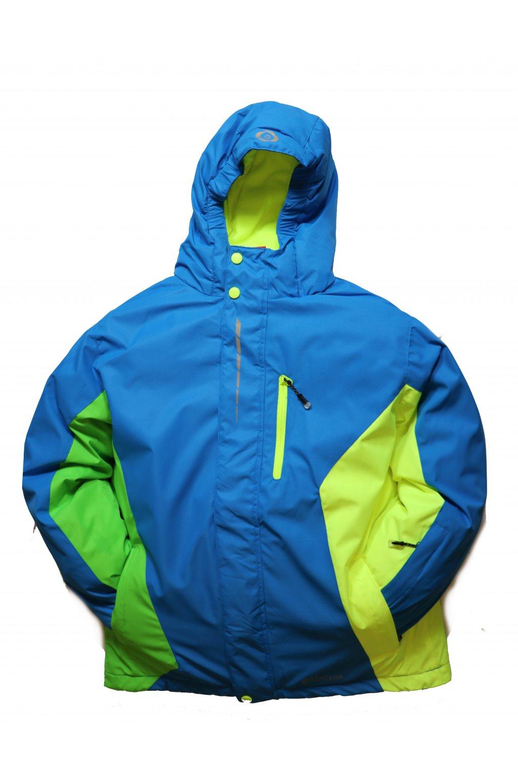 Dětská lyžařská bunda HA02-M2 modrá vel. 134-164 cm