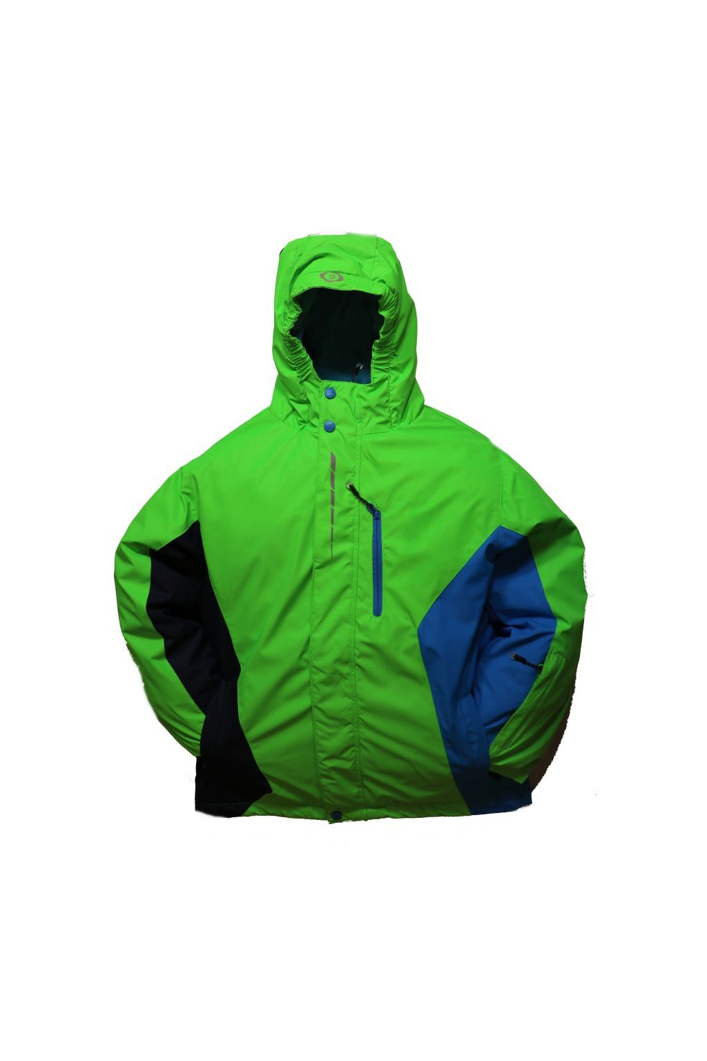 Dětská zimní bunda HA02-M2 zelená vel. 134-164 cm