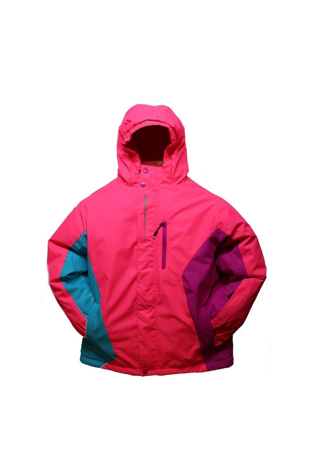 Dětská zimní bunda HA02-M2 růžová vel. 134-164 cm