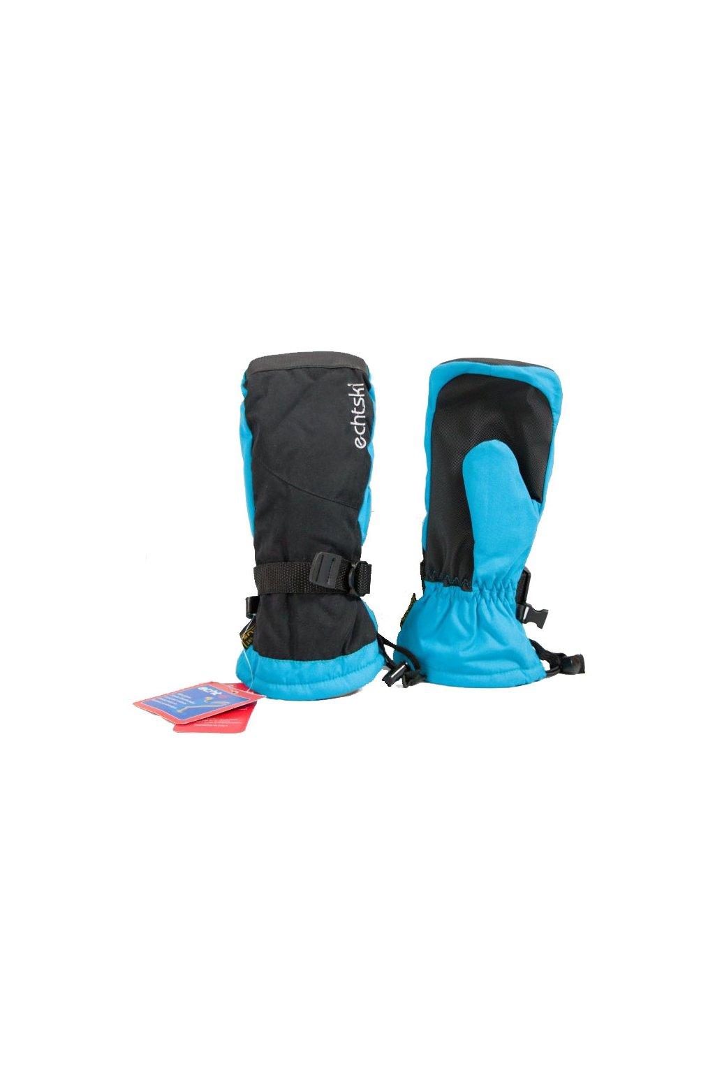 Dětské lyžařské palčáky C080 modrá