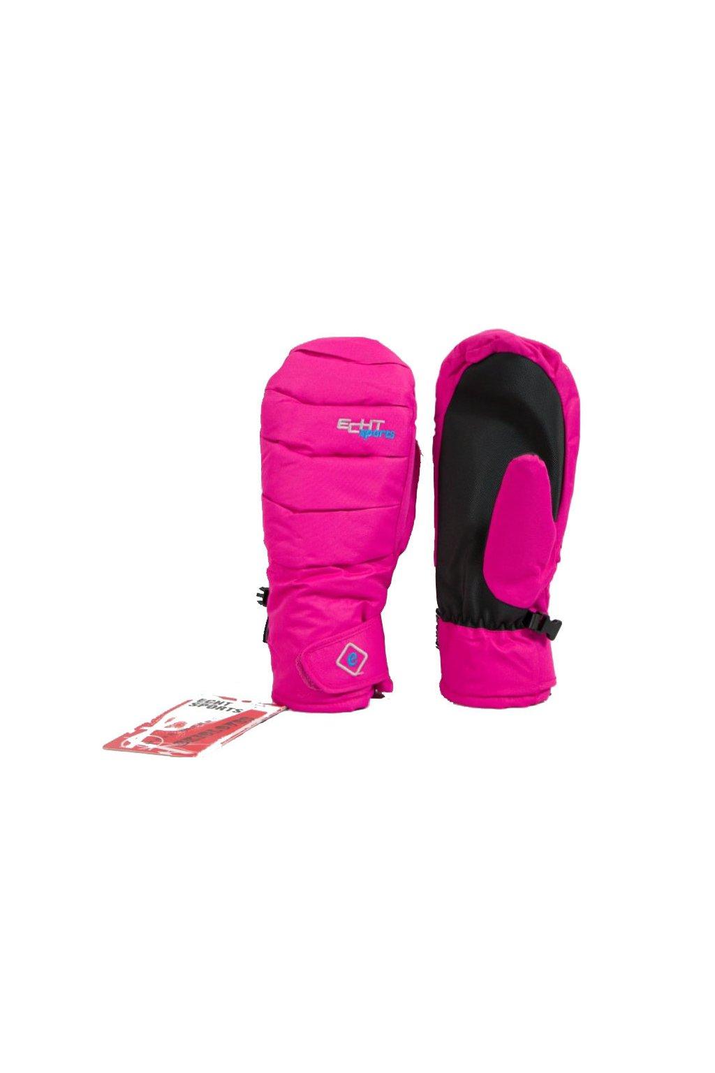 Dámské lyžařské palčáky HX024 růžová