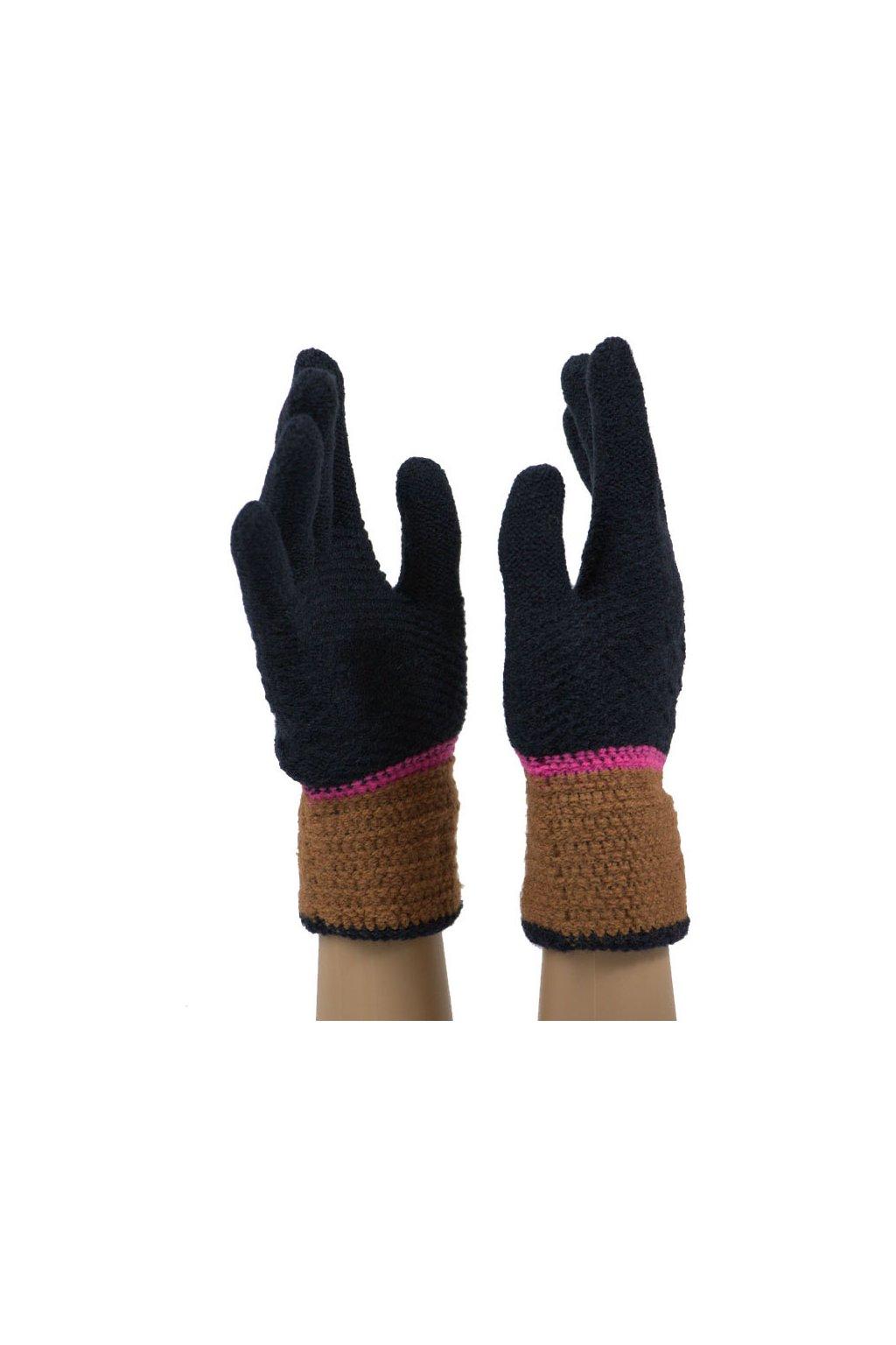 Dámské pletené rukavice JKB-120